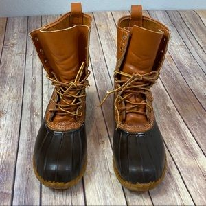 Vintage LL Bean Men's Leather Unlined Boot